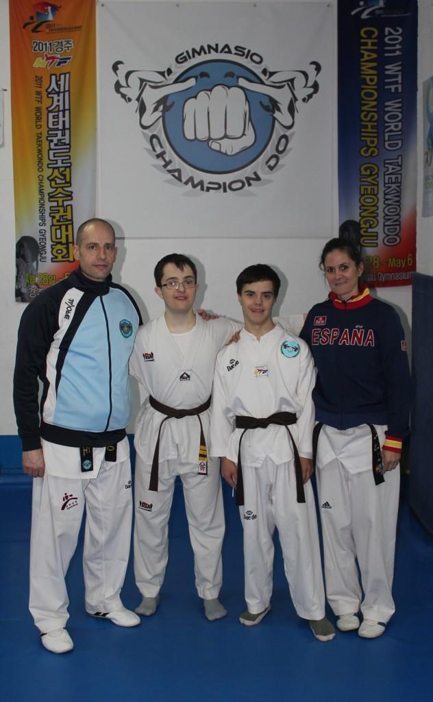Andrés Diego y los maestros
